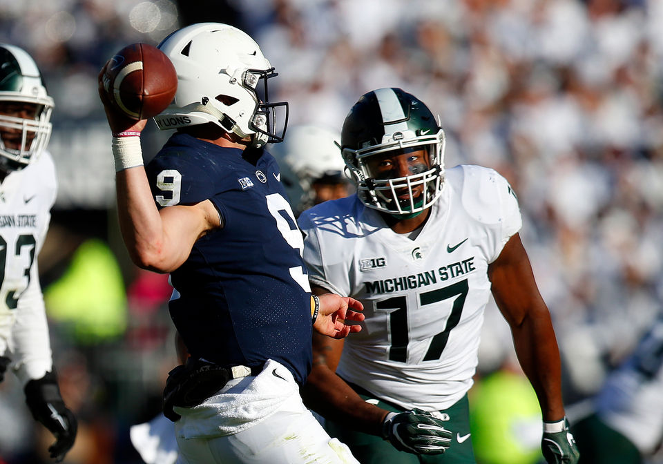 Michigan State vaults back into AP top-25 rankings