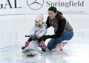 Famed Olympic skater Nancy Kerrigan takes inaugural spin on MGM Springfield ice rink (photos, video)