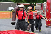 Milford, Phillipsburg shine at firefighting competition (PHOTOS)