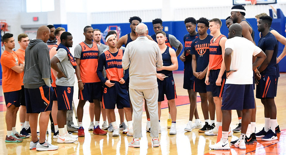 Syracuse Basketball Practice First Look Photos Video