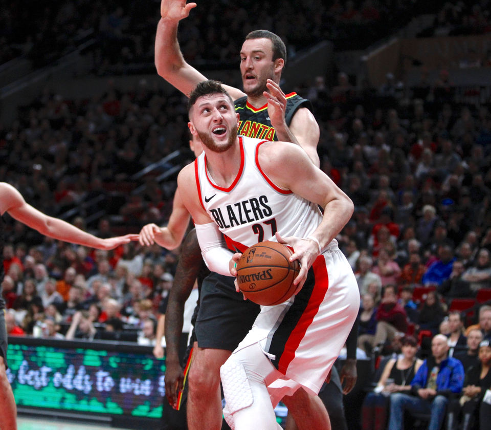 Blazers Oregonlive: Portland Trail Blazers' Jusuf Nurkic Becomes Restricted
