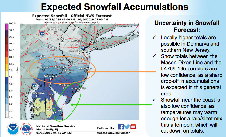N.J. weather update: Snow totals could hit 8 inches in parts of ...