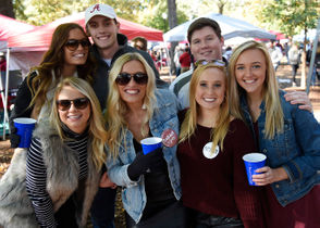 Alabama fans hit the Quad for the first time in three weeks ahead of the Crimson Tide's latest home game against Mississippi State. Check out the pregame scene in the photos below!
