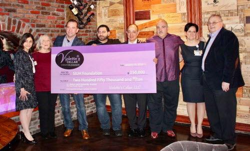 Violette's Cellar pledges $250 K to SIUH Comprehensive Cancer Center