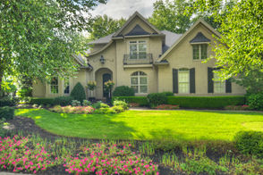"AVON LAKE, Ohio -- From its picturesque setting along the Legacy golf course to its expertly decorated modern interior, the brick colonial at 586 Buckhead Court is straight out of a magazine. Built in 2005, the home boasts 4 bedrooms and 4.5 bathrooms in more than 6,300 square feet. The new-to-market home is listed at $1,265,000. ""This home makes you feel like you are on vacation,"" Howard Hanna agent Kim Crane says. ""The covered patio overlooking the golf course and the lower level rec room are second to none."""