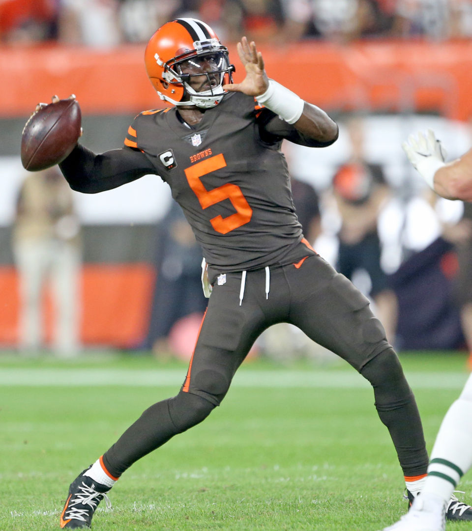 249 With Baker Mayfield Starting The Browns Should Try To Trade Tyrod Taylor Mary Kay Cabot