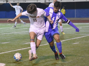 The Warriors took over the top spot in District 7-II with a convincing victory.