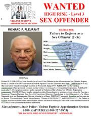 Massachusetts State Police apprehend wanted sex offender in trailer park