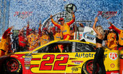 Joey Logano ends drought with win at Talladega's GEICO 500