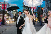 Travers Mackel and Meg Gatto wed in TV-ready New Orleans style