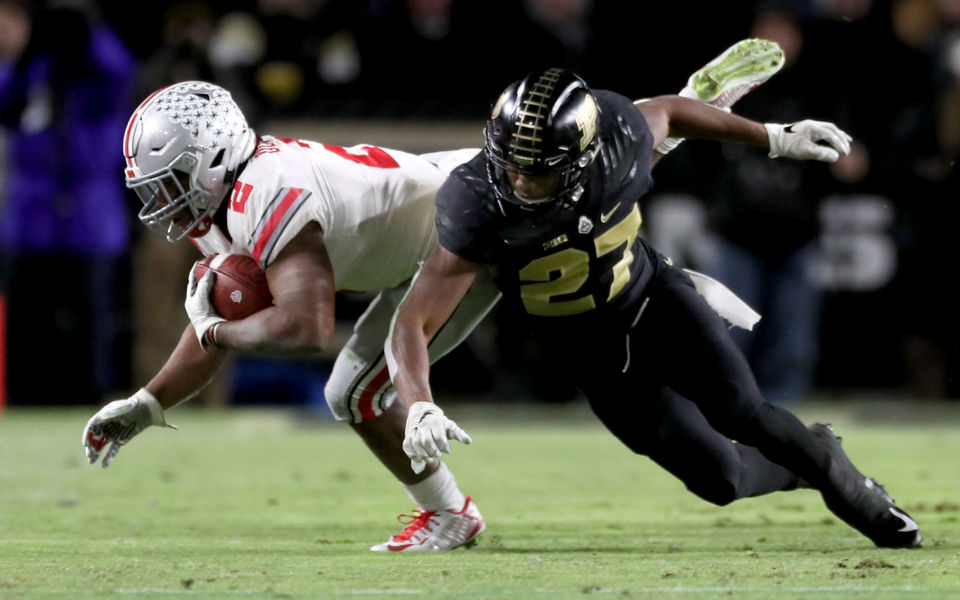 Why The Ohio State Buckeyes Couldn T Run The Football In Their Loss