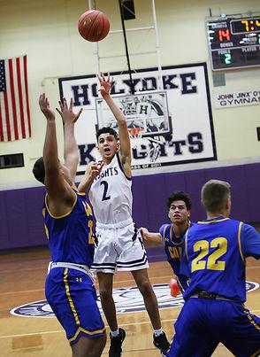 Holyoke hosted Chicopee Comp boys Basketball on January 10th. (J. Anthony Roberts)