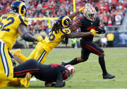 Los Angeles Rams looking to Mark Barron for linebacker leadership