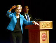 US Senate race: Springfield town hall featured in new Elizabeth Warren ad