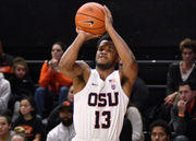 Oregon State hits a school-record 16 3-pointers in 101-77 win over Missouri State