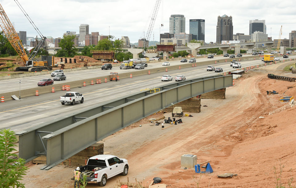 I-59/20 Bridge Replacement project continues in downtown Birmingham.  (Joe Songer | jsonger@al.com).