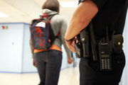 How many times a police officer responded to each Lehigh Valley public high school last year