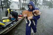 Tropical Storm Florence: Michael Jordan 'here to help'; did Sandy survivors lose NC home?