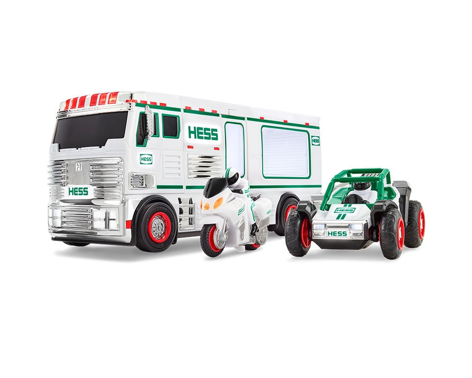The Hess truck's back ... and it's a 3-in-1 recreational