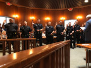 Bethlehem promotes and adds police, firefighters to force (PHOTOS)