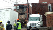 No injuries in partial building collapse in Medina's historic district