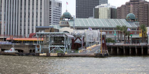 Canal Street ferry terminal project in New Orleans, La. has been delayed.