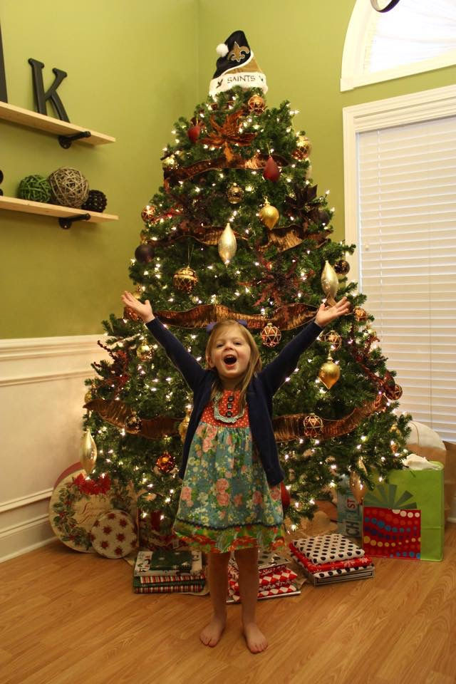 Saints holiday decor - Who Dats For The Holidays: Readers Share Photos Of Their Saints