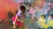 In Class: Staten Island students brighten up for color run fundraiser