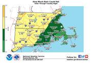 Threat of flash flooding across Massachusetts Tuesday