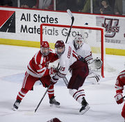 No. 2 UMass earns first ever sweep past Boston University following 4-2 win Friday