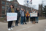 'It's about people, not politics,' Northwest students say of National Walkout Day