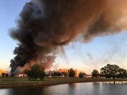 Large fire breaks out in Bayou St. John neighborhood