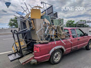 Chicopee driver stopped twice in 5 days with dramatically overloaded truck