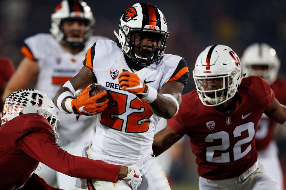 OSU Beavers football falls to Stanford Cardinal