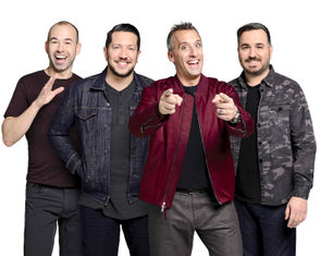 """""""Impractical Jokers"""" stars four longtime friends, who compete to embarrass each other in a series of hilarious dares."""