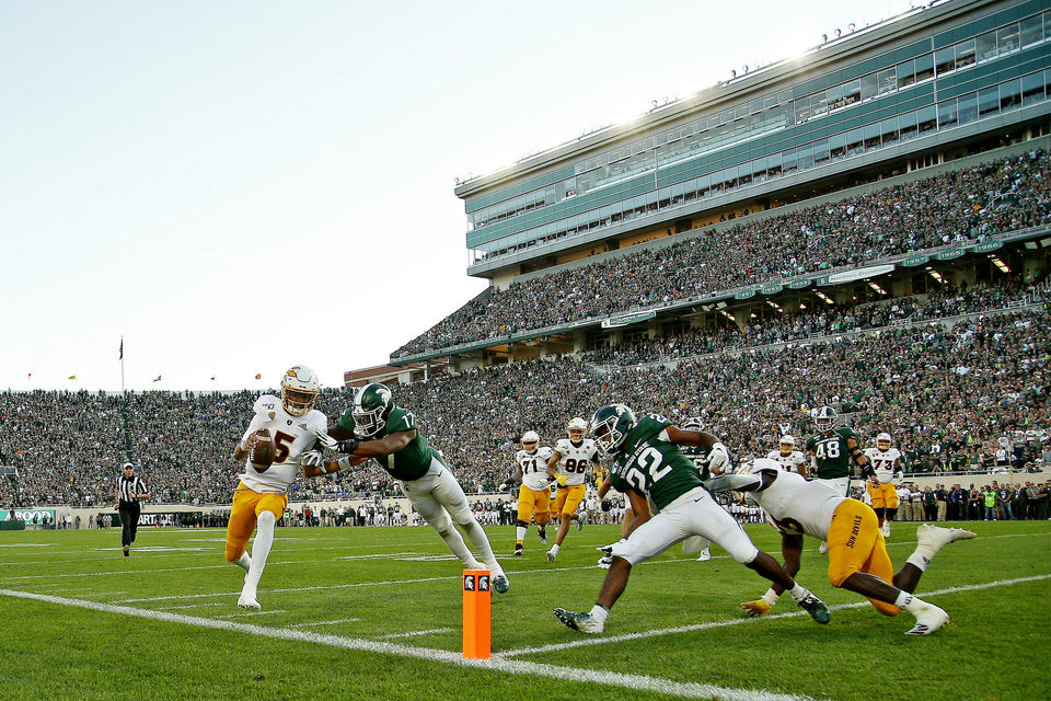 Best images from Michigan State's frustrating 10-7 loss to Arizona State