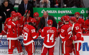 What is Red Wings' timeline for Filip Zadina promotion?
