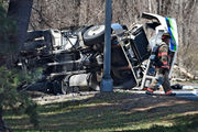 West Springfield man reportedly injured in Enfield gasoline tanker rollover