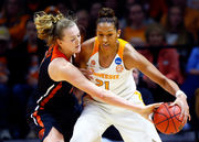 Mikayla Pivec leads Oregon State women to NCAA Tournament upset of Tennessee