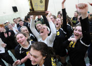 North Hunterdon girls volleyball sweeps its way to state title