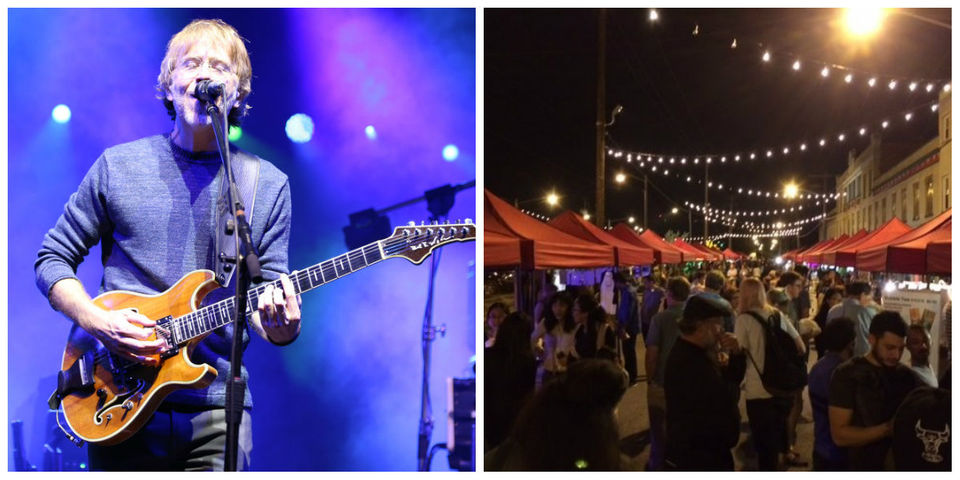 Phish Blossom concert photos, Night Market returns, and other entertainment stories you might have missed today