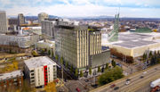 Prosper Portland weighs office building atop convention center parking garage