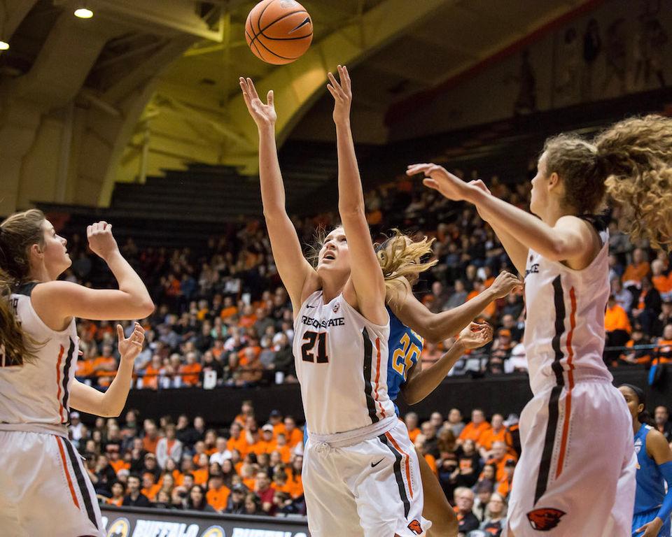 Oregon State vs. UCLA women's basketball