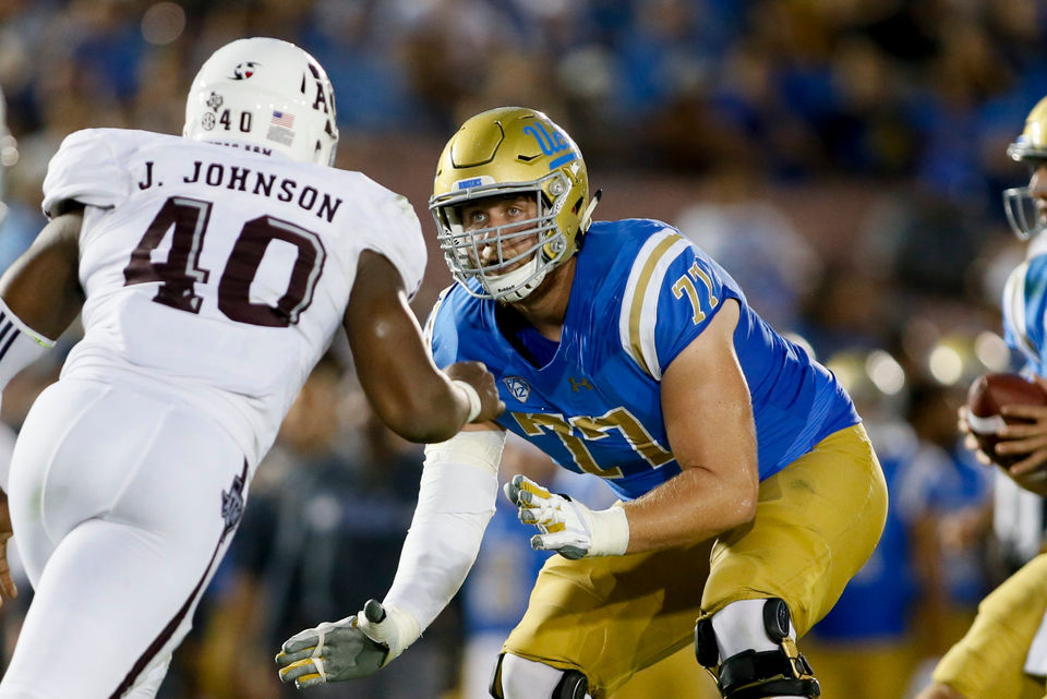 2830d17c1 NFL Draft 2018  10 LT prospects New England Patriots can draft to replace  Nate Solder as Tom Brady s protector