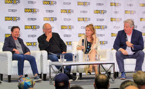 """Reuniting under the roof of the Boston Convention Center, four members of the """"Back to the Future"""" cast mulled whether a fourth movie should be added to the beloved time travel trilogy. Michael J. Fox, Christopher Lloyd, Lea Thompson and Thomas Wilson took to the stage in back of the annual comic convention, formally known as Fan Expo Boston, to reminisce about the 1980s films that helped launch them into superstardom. When the cast was asked why rumors of a """"Back to the Future 4"""" keep circulating, Wilson, who played the trilogy's villain Biff, jumped in with a quip. """"Basically, I think America is saying, 'Come on they've wrecked every other franchise with bad sequels, why not this one?'"""" he said to laughter. """"'C'mon, we would watch it until it sucks.'"""" For his part, Fox, who played teenager Marty McFly, said trilogy co-creator Bob Gale is a """"really great gatekeeper of the franchise."""" Fox may have been referring to Gale's reported comments over the years, shutting down talks of another sequel. Director Robert Zemeckis has made similar comments in the media."""