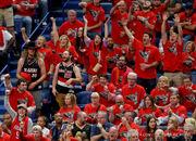 Watch Pelicans' locker room celebration following sweep of Blazers