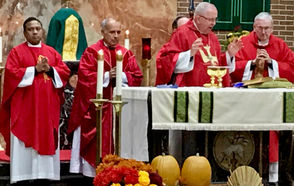 STATEN ISLAND, N.Y. -- The Red Mass, an age-old tradition within the Catholic Church, will be celebrated at 6 p.m. Tuesday, Oct. 30, in West Brighton's Blessed Sacrament R.C. Church. Dating back to the 13th century -- when it officially opened the term of the court for most European countries -- the Red Mass symbolically marks the beginning of the court year. Invitations have been extended to every member of the legal community -- and not only those of the Catholic faith. Red Mass co-chairs Ronald M. Cerrachio and Mario Esposito Jr. said they hope it will inspire all to perform their responsibilities and duties in an exemplary fashion.