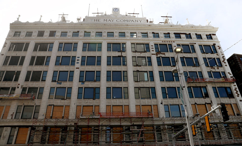 Bedrock offers first glimpse into renovated, historic May Co. building