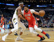 Anthony Davis takes over in the 4th, leads Pelicans to third straight win