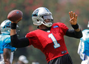 Cam Newton takes former teammate's criticism in stride